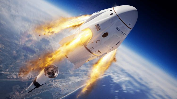 spacex-lançamento